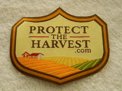PROTECT THE HARVEST- Patch- fabric with adhesive backing- NEW