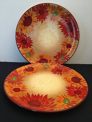 Pfaltzgraff Evening Sun 12 inch Dinner Plate - Hand Painted!