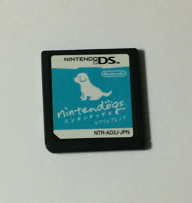 USED Nintendo DS Software Only Nintendogs Chihuahua & Friends JAPAN Japanese