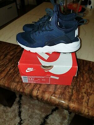 Nike Shoes Junior Air Huarache Run Ultra Blue Force Wolf