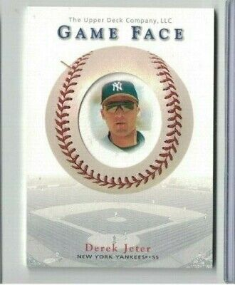 Derek Jeter 2003 Upper Deck Game Face Insert Card