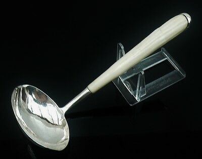 Silver Toddy Ladle, Bernard Harrington, Edinburgh 1959