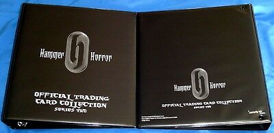 Hammer Horror Series Two 3-Ring Padded Binder + Pages + 2 Promos - Strictly Ink