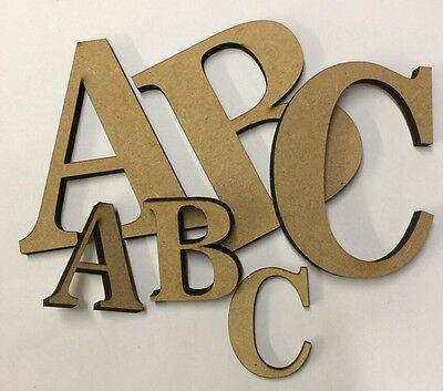 F343 MDF Wooden Alphabet Letters /& Numbers 4mm Thick DISNEY Style Font Laser Cut