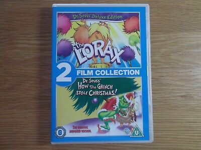The Lorax + How The Grinch Stole Christmas Animated 2 Film Collection Deluxe Ed
