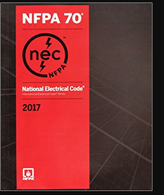 NFPA 70 National Electrical Code 2017 Paperback 1st Edition ISBN: 9781455912773