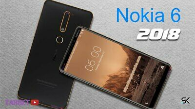 "NEW *BNIB* Nokia 6.1 2018 32/64GB 5.5"" ANDROID GLOBAL UNLOCKED Smartphone"