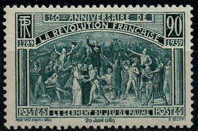 TIMBRE FRANCE année 1939 n°444 NEUF**