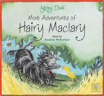 LYNLEY DODD - More Adventures of Hairy Maclary - CD Audio Book - 8 Stories