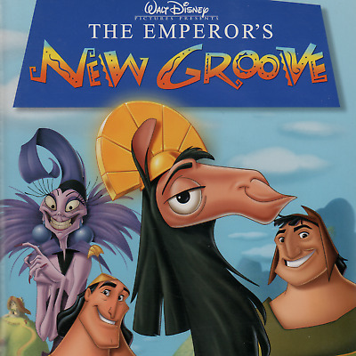 The Emperors New Groove (VHS, 2001) Walt Disney, David Spade, John Goodman