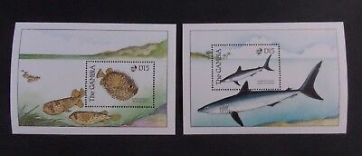 Gambia 1989 Fish MS MS931 MNH unmounted mint