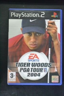 Tiger Woods Pga Tour 2004 Ps2 Playstation 2 Sony Complet Pal