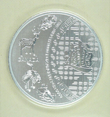 Canada Silver Coin 5 Dollars 1 oz .9999 2016 UNC, A Thriving Business