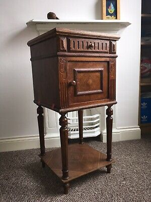 Two Edwardian/French Bedside Cabinets