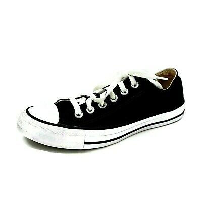 Details about Converse All Star Double Tongue Black Low Lace Sneaker Womens 7 Checkered A59(5)