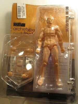 Artists model Figma  Articulated male with stand 5 1/2 inches high new
