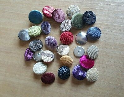 99p for 2 buttons Upholstery button covering free postage. made to order
