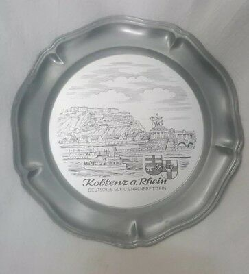 Koblenz A Rheingold Metal Maybe  Pewter  Wall Plaque.
