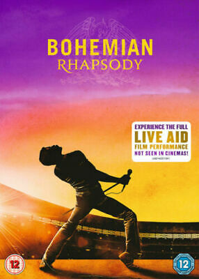 BOHEMIAN RHAPSODY region 2 brand new sealed pack DVD Quick Dispatch