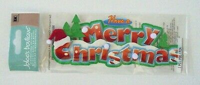 Jolees Boutique Christmas Have A Merry Christmas Scrap Booking Stickers
