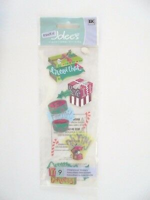 A Touch Of Jolees Boutique Christmas Gifts Scrap Booking Stickers