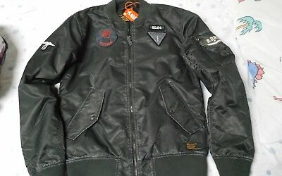 f5b7e72ac SUPERDRY MENS BOMBERJACKET size S limited edition