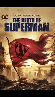 The Death of Superman (DVD, 2018)  DC UNIVERSE Brand New Free Fast Shipping 🚀