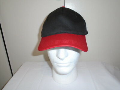 Johnson Seahorse Hat Gray with Red Bill and Red Johnson Logo//Black Seahorse