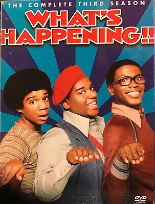 What's Happening!! - The Complete Third Season (3) (Boxset) (Dvd) Brand New