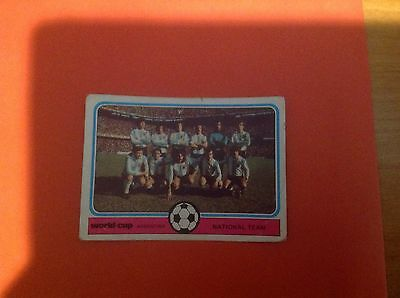 Monty Gum - World Cup Football Card 1978 - Argentina - National Team