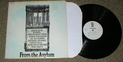 FROM THE ASYLUM promo lp Byrds Tom Waits Souther Jo Jo Gunne etc...