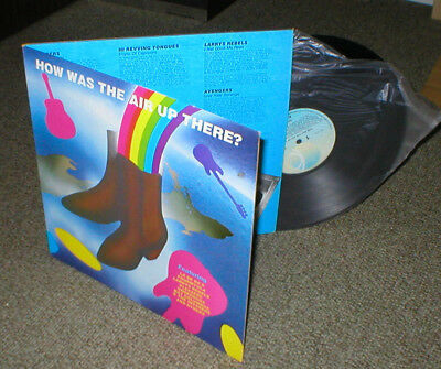 HOW WAS THE AIR UP THERE vinyl lp New Zealand artists