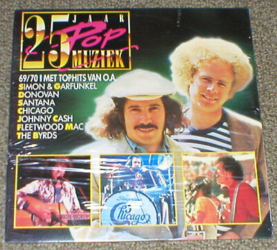 25 YEARS POP MUSIC 1969-1970 double LP sealed