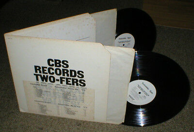 CBS RECORDS TWO-FERS ARE GREAT double LP
