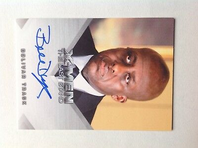 X-men 3 the last stand autograph bolivar trask - bill duke