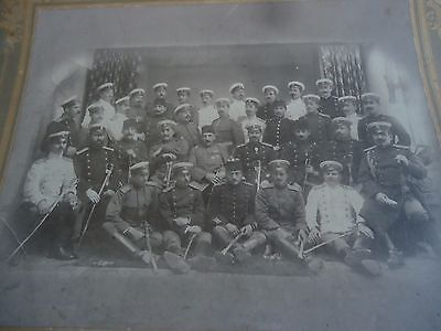 Ww1 Rare Military Picture Ottoman Turkish Army Officers With Bulgarian Officers