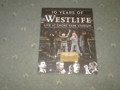 Westlife-10 Years Of-Live Croke Park-Dvd-Uptown Girl/Mandy/You Raise Me Up/Home