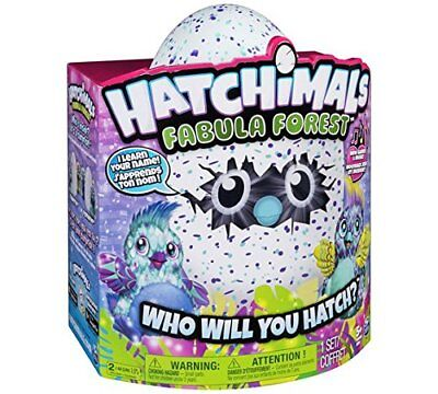 Hatchimals Fabula Forest Puffatoo Brand New Release Brand New In Box