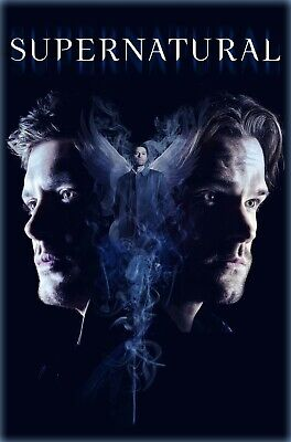 Supernatural Poster - Season 14 - Sam Dean Castiel - TV Show - 11x17 13x19