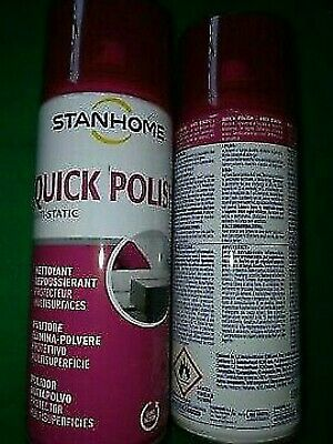 Stanhome:set Due Quick Polish (Spray Elimina Polvere)