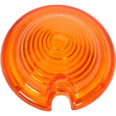 Drag Specialties Bullet Marker Light Replacement Lens Amber (DS-280060)