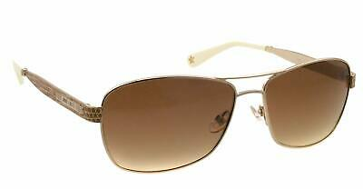 eeb3bf1a2e9d NEW AUTHENTIC JIMMY CHOO CRIS S 3YG Light Gold-Brown Gradient Lens 57mm  ITALY