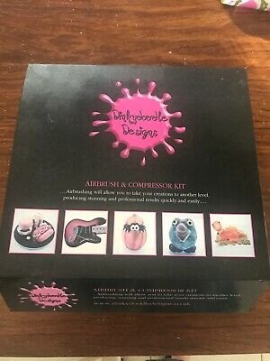 Dinkeydoodle Air Brush Kit for Cake Decorating