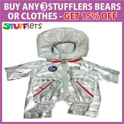 Astronaut Space Clothing Outfit by Stufflers – Fits Medium 40cm Plush Toy