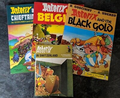 Asterix The Gaul - Graphic Novel Collection - Lot of 4