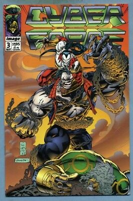 Cyberforce #3 (May 1993, Image [Top Cow]) {Pitt} Eric & Marc Silvestri -B