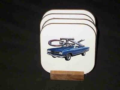 NEW Plymouth GTX Hard Coaster Sets! (Many different sets available)