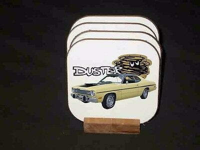NEW Plymouth Duster Hard Coaster Sets! (Many different sets available)