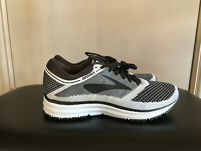 66c499cefd4 New Brooks Men s Revel Performance Running Size 10.5 White Anthracite Black