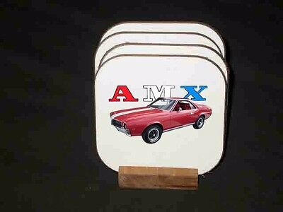 NEW AMX Hard Coaster Sets!  FREE SHIPPING!! Many different available!